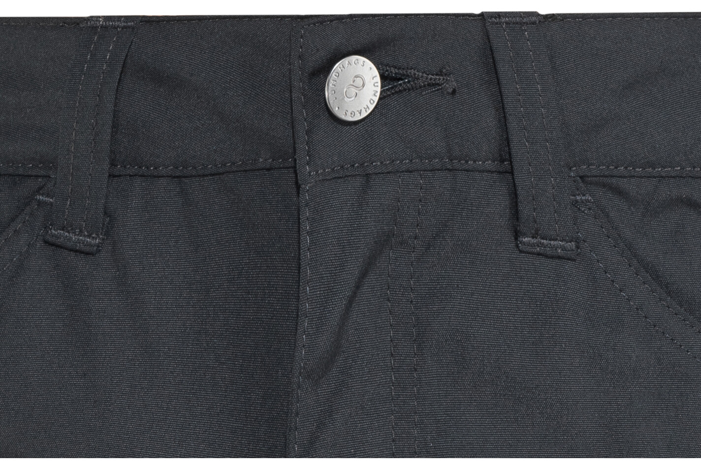 b93aca5d Lundhags Authentic II Pants Men black at Addnature.co.uk